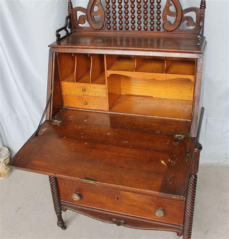 drop front desk antique bargain s antiques 187 archive antique oak drop