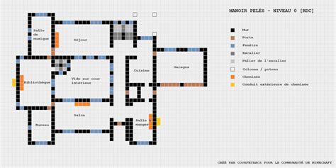 minecraft maison plan