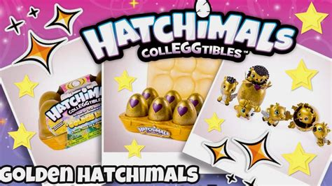 Gold Hatchimals Colleggtibles Season 2 Rare Golden