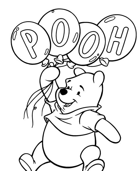 Free Winnie The Pooh Coloring Pages Affordable Free