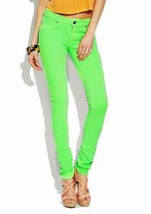 Neon Skinny Jeans | Bbg Clothing