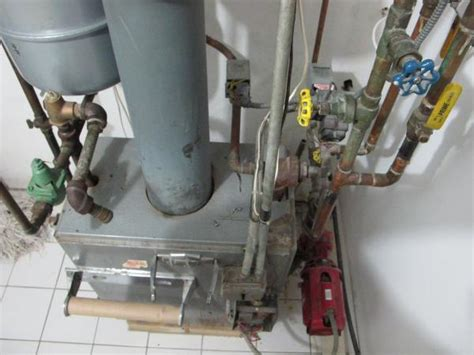 Gas Fired Hot Water Boiler Not Burning (pilot Light On