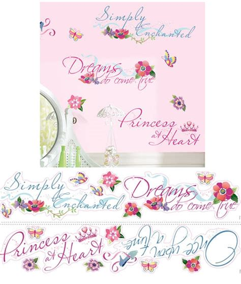 fathead princess wall decor disney princess quotes wall stickers