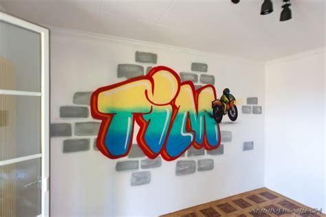 decoration fille chambre annif graffiti de tim à domicile anniversaire en suisse