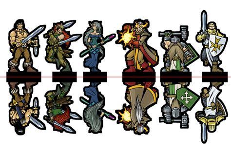 Fiasco es un juego de rol inspirado en películas como sangre fácil , fargo o un plan sencillo. Miniaturas de papel para jugar a rol. - Anotaciones de rol