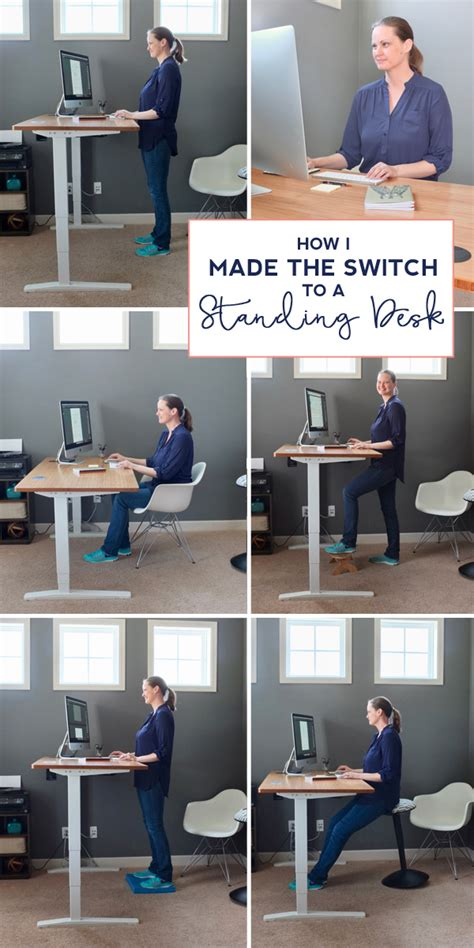 doctors note for standing desk how i transitioned to a standing desk teal and lime