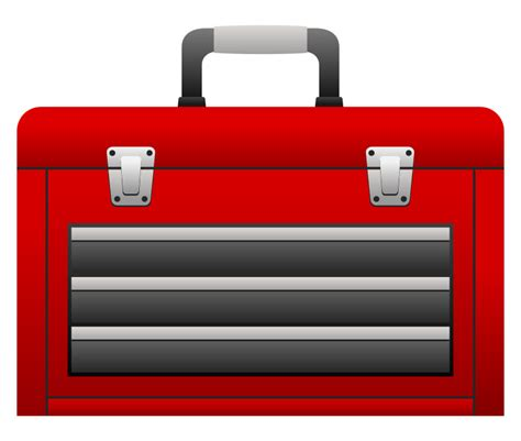 Clipart Tool Box  Clipart Collection  Free Red Toolbox Clip Art, Toolbox Clipart Red Tool