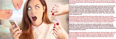Celebrities Marzia Bisognin Hypno Feet Captions High
