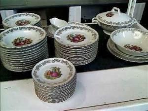 Service Vaisselle Porcelaine : service de table fragonard vaisselle maison ~ Teatrodelosmanantiales.com Idées de Décoration