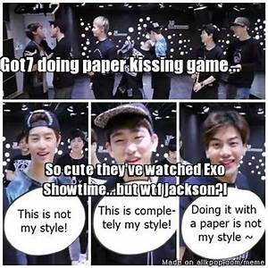 Pin by Nicole N... Funny Got7 Quotes