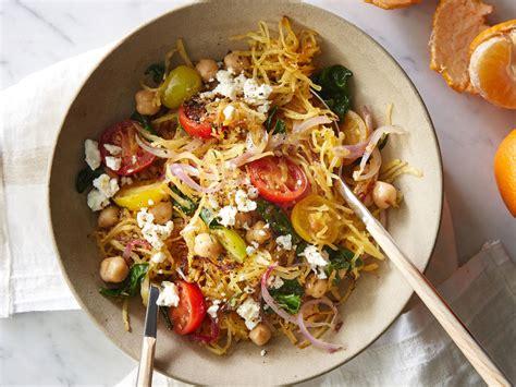 Greek Spaghetti Squash Toss Recipe  Cooking Light