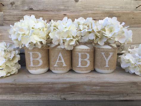 decor for a baby shower baby shower decor nursery decor rustic baby shower burlap