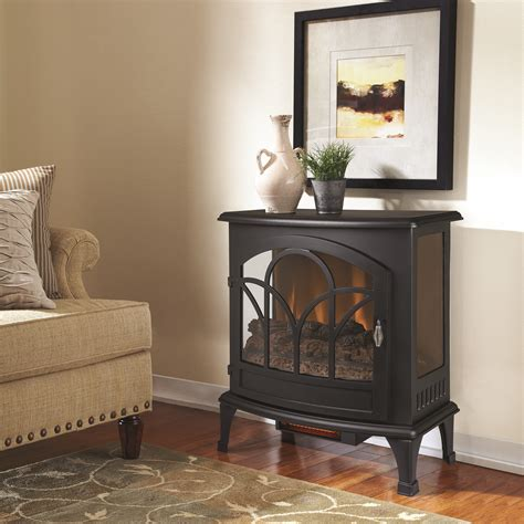 muskoka  curved front infrared panoramic electric stove