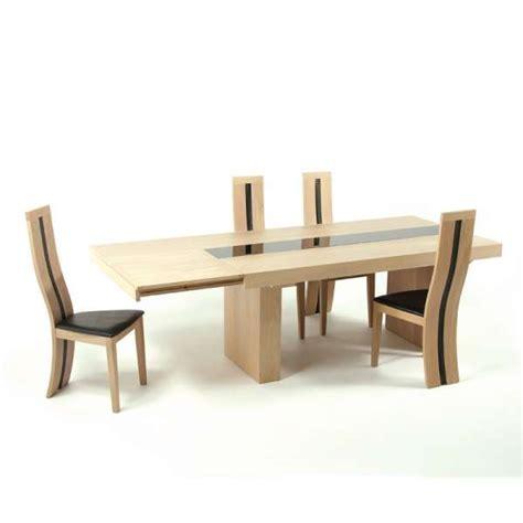 table de salle à manger extensible table de salle 224 manger extensible en ch 234 ne massif galanga 4 pieds tables chaises et