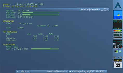 arch linux best tiling window manager arch linux and the eee 701 steps eee 701 planetoid