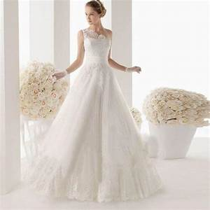 2014 new white ivory a line wedding dress size 4 6 8 10 12 With wedding dresses size 16