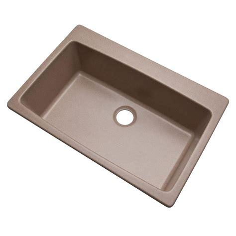 granite composite kitchen sink mont blanc waterbrook dual mount composite granite 33 in 3880