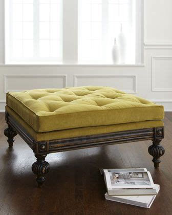 Ottoman Instead Of Coffee Table by 1000 Ideas About Green Ottoman On Ottomans