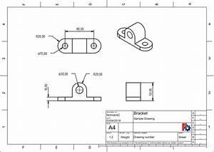 Technische Zeichnung Ansichten : techdraw arbeitsbereich technisches zeichnen freecad documentation ~ Yasmunasinghe.com Haus und Dekorationen