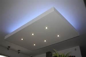 Luminaire Led Plafond : luminaire led plafond plafonnier led marchesurmesyeux ~ Edinachiropracticcenter.com Idées de Décoration