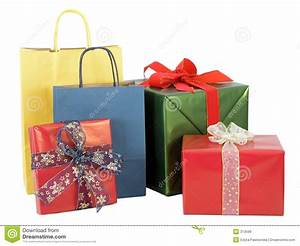 Wrapped Gifts Royalty Free Stock Images - Image: 313599