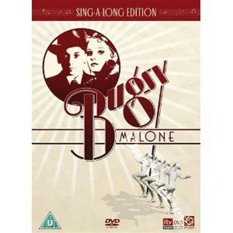Bugsy Malone NEW PAL Arthouse Classic DVD Alan Parker ...