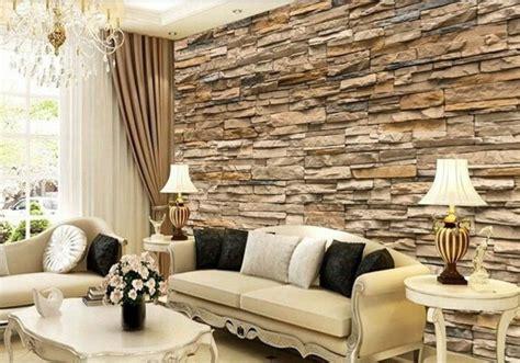 Einfach Wohnzimmer Tapeten Ideen Beige Tapeten Wohnzimmer Beige Wundersch C Bne Tapete Steinoptik