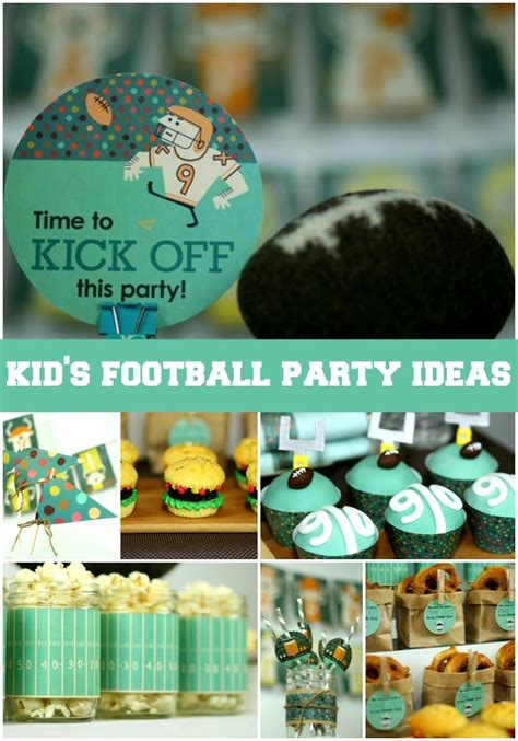 football party ideas   released  kids activities