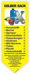 Ständer Für Gelben Sack : wertstoffaufkleber was darf in den gelben sack sammelbeh lter tonne ~ A.2002-acura-tl-radio.info Haus und Dekorationen