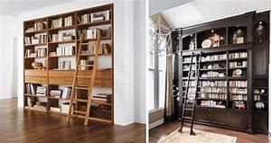 Grande Bibliothèque Murale : quelle biblioth que murale pour votre int rieur articl ~ Teatrodelosmanantiales.com Idées de Décoration