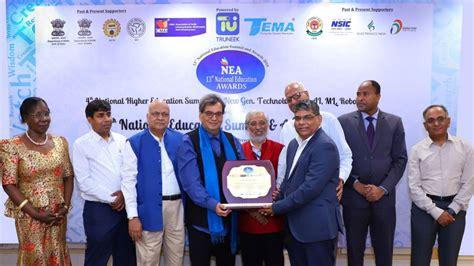 national education summit awards  karnavati