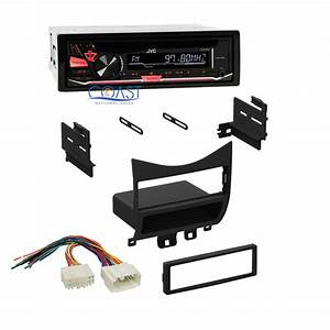 Jvc Car Radio Stereo Single Din Dash Kit Wire Harness For