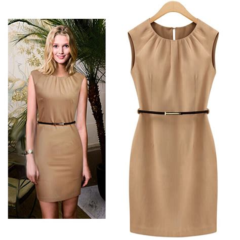 plus size shift dress office dress work clothes 2015 casual