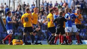 Johnny Ertl in Portsmouth v Oxford United - Sky Bet League ...