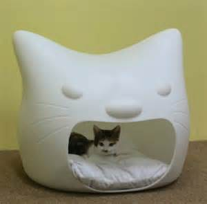 stool in cats cat bed and stool in one digsdigs