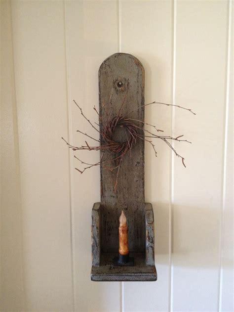 primitive candle sconce prims