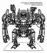 Robot Coloring Robots Drawing Sample Factory Couple 1st Been Amzn Everyday Several Encouragement Printed Ve Points sketch template