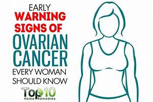 10 Early Warning Signs of Ovarian Cancer Every Woman ...