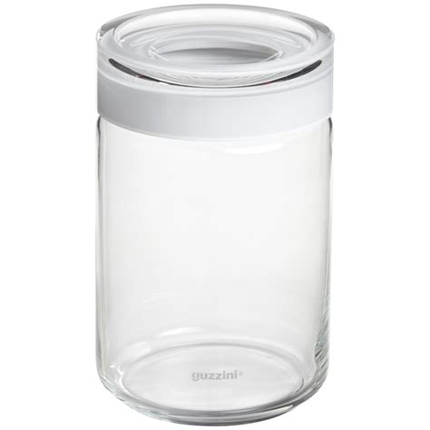 glass kitchen storage canisters set of guzzini blanca glass canisters the container 3799