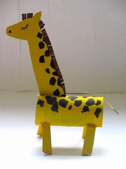 Giraffe Roll Paper Zoo Zebra Craft Toilet