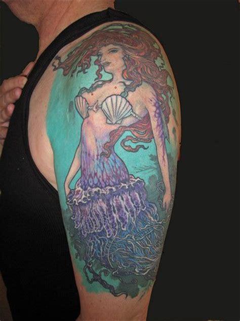 nice mermaid gallery part  tattooimagesbiz