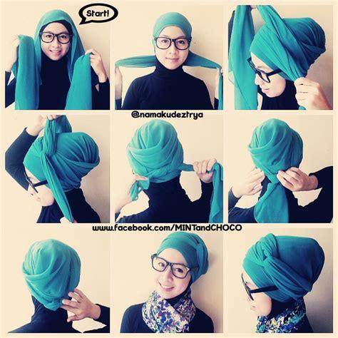 easy turban style hijab tutorials tutoriel hijab mode