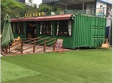 The Container Restaurant Bar Made By Second Hand Shipping