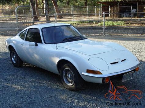Opel Gt Parts by 1970 White Opel Gt Runs Includes A Parts Car And A