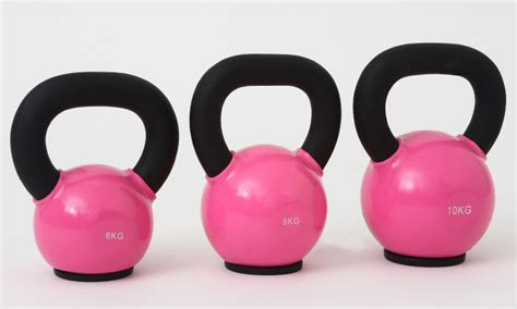 kettlebell pink kettle kettlebells ladies ko sports 10kg gender iron cast puzzle problem leeds bells consists crafted beautifully coaching