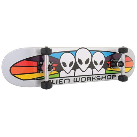 workshop spectrum skateboard deck on sale workshop spectrum silver skateboard complete