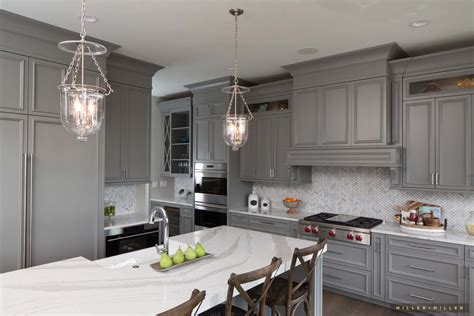 grey kitchen cabinet ideas inspiring room modern nantucket style farmhouse kitchen 4068