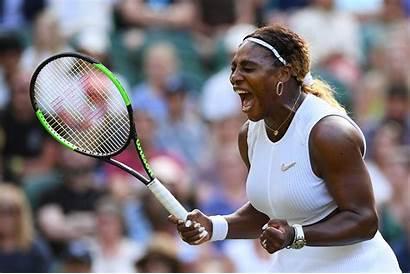 Serena Williams Win Tennis Wimbledon Much Straight