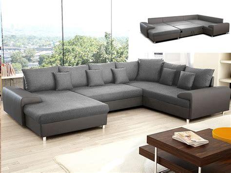 déco coussin canapé canapé d 39 angle convertible chocolat ou gris clement