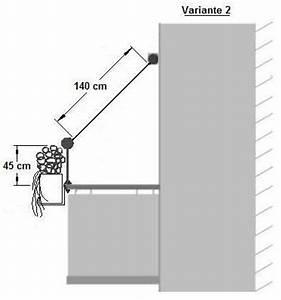 Sonnensegel Befestigung Balkon Ohne Bohren : balkon komplettmontageset ii f r balkone ohne dach decke mit ~ Bigdaddyawards.com Haus und Dekorationen